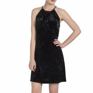 LYSSÈ Willa velvet black dress size XL